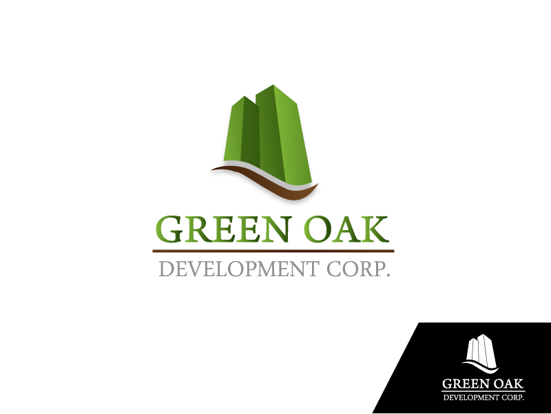 Logo Design by Private User - Entry No. 38 in the Logo Design Contest Unique Logo Design Wanted for Green Oak Development Corp..