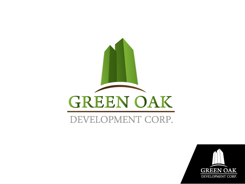 Logo Design by Private User - Entry No. 39 in the Logo Design Contest Unique Logo Design Wanted for Green Oak Development Corp..