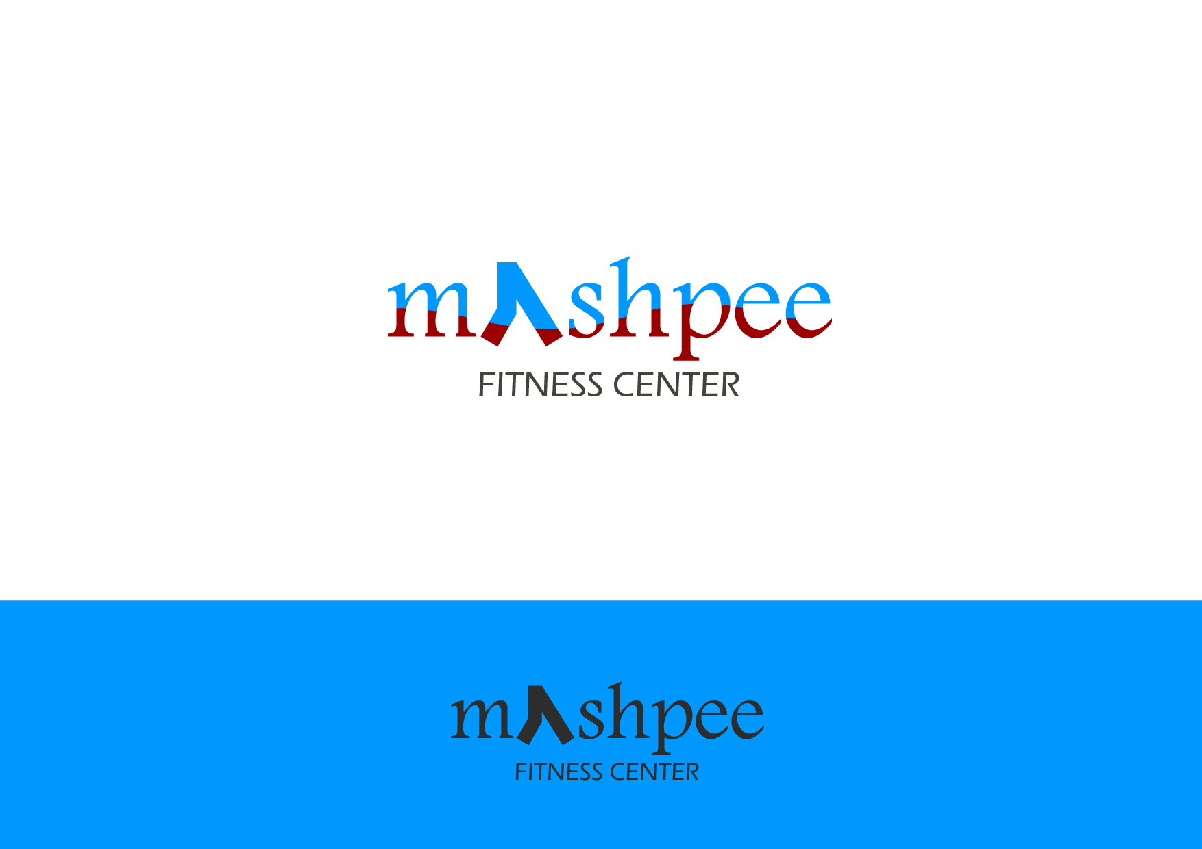 Logo Design by Osi Indra - Entry No. 89 in the Logo Design Contest New Logo Design for Mashpee Fitness Center.