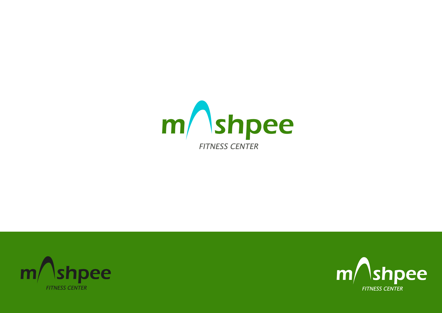 Logo Design by Osi Indra - Entry No. 90 in the Logo Design Contest New Logo Design for Mashpee Fitness Center.