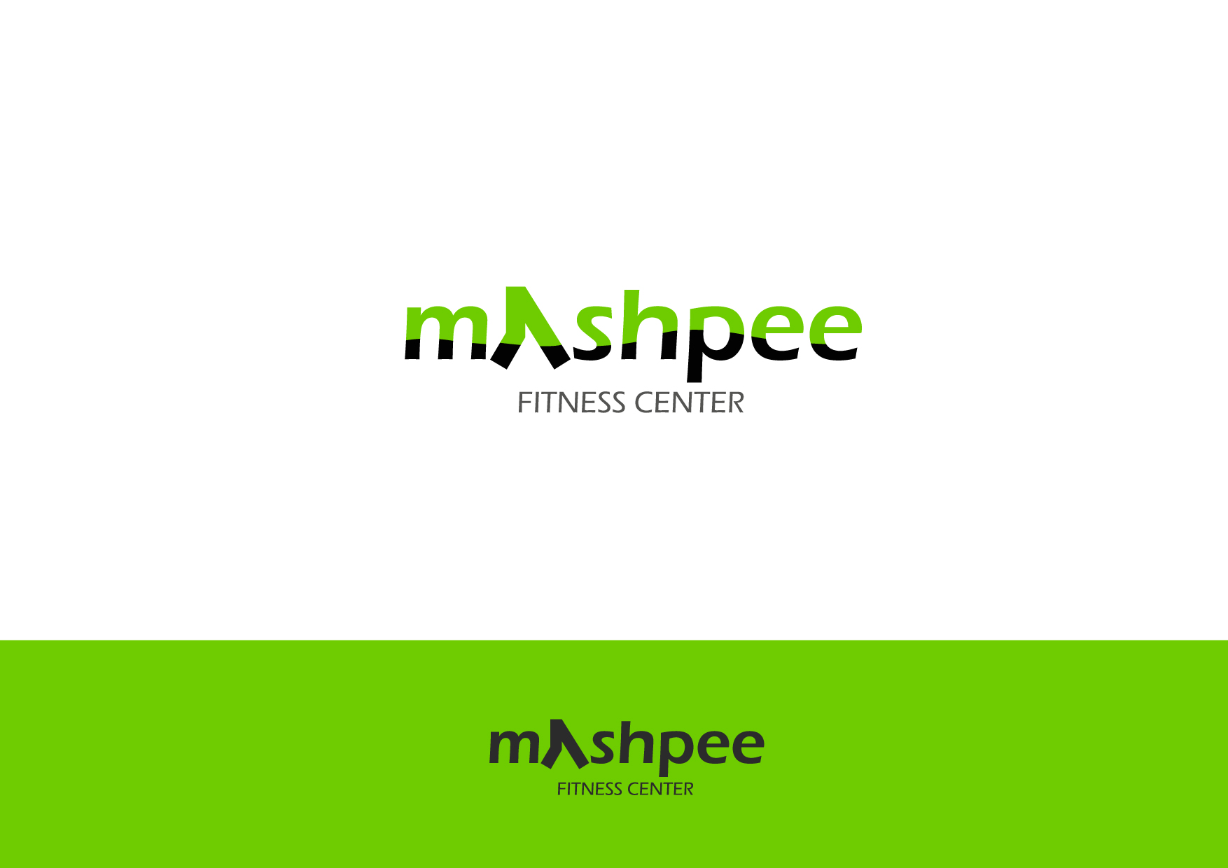 Logo Design by Osi Indra - Entry No. 92 in the Logo Design Contest New Logo Design for Mashpee Fitness Center.