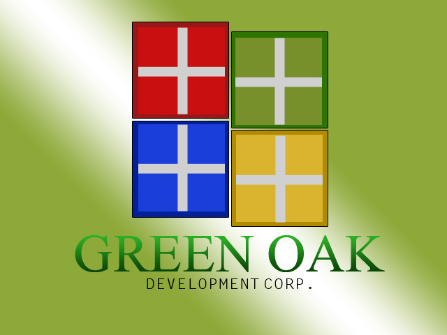 Logo Design by drunkman - Entry No. 40 in the Logo Design Contest Unique Logo Design Wanted for Green Oak Development Corp..