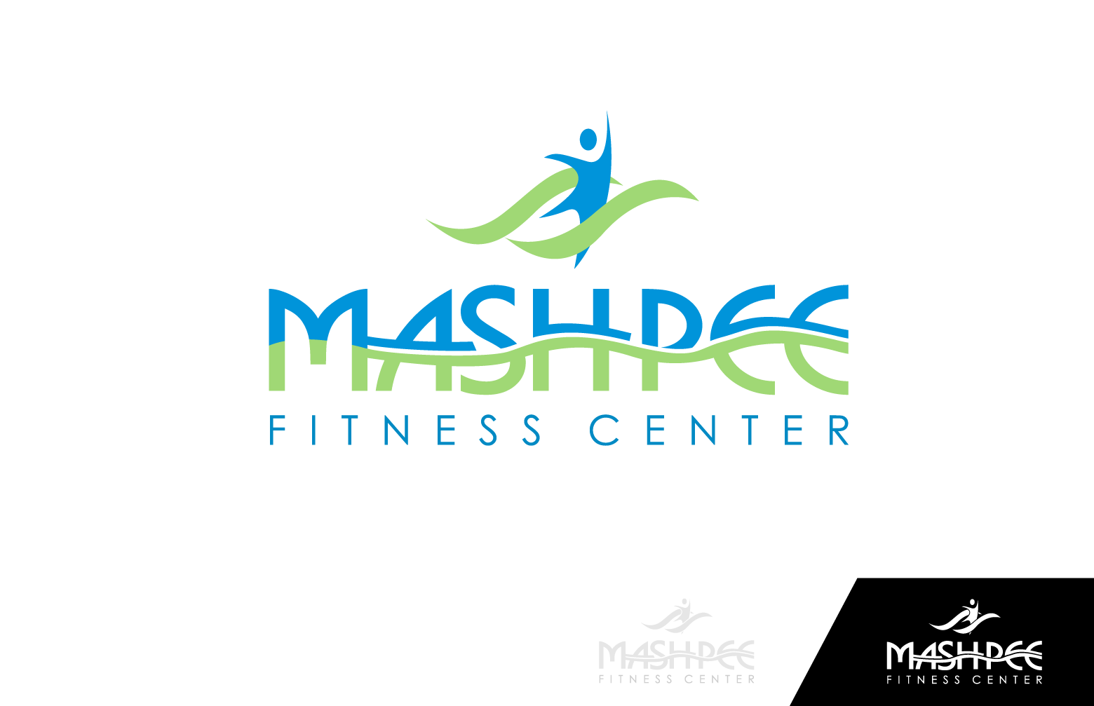 Logo Design by Private User - Entry No. 93 in the Logo Design Contest New Logo Design for Mashpee Fitness Center.
