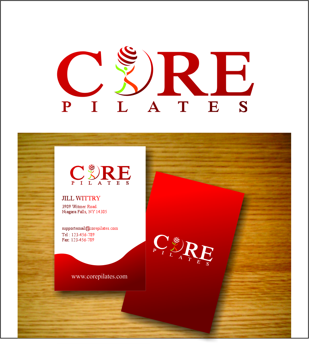 Logo Design by Hudy Wake - Entry No. 53 in the Logo Design Contest Core Pilates Logo Design.