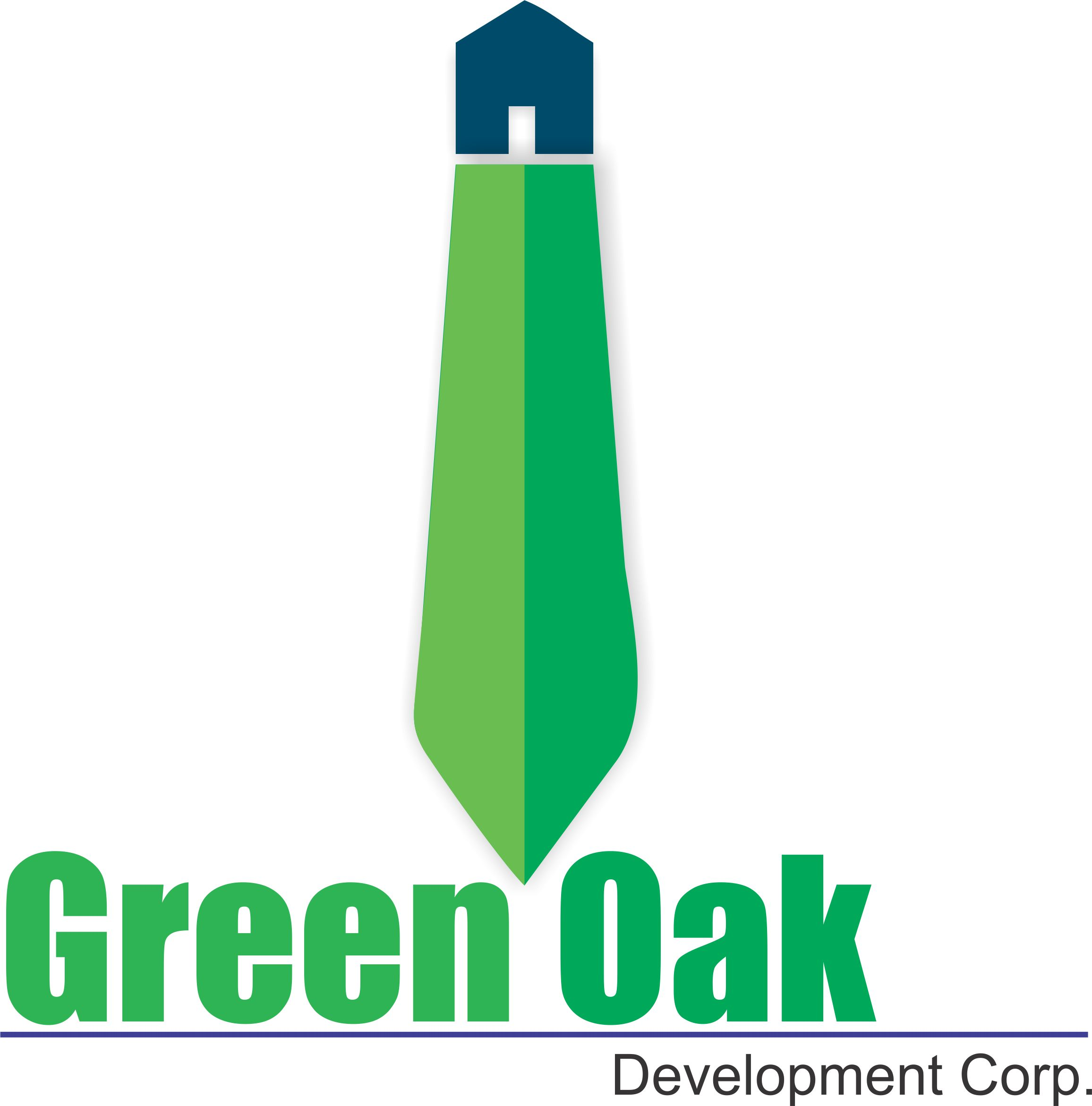 Logo Design by Siddhatya Maitre - Entry No. 49 in the Logo Design Contest Unique Logo Design Wanted for Green Oak Development Corp..