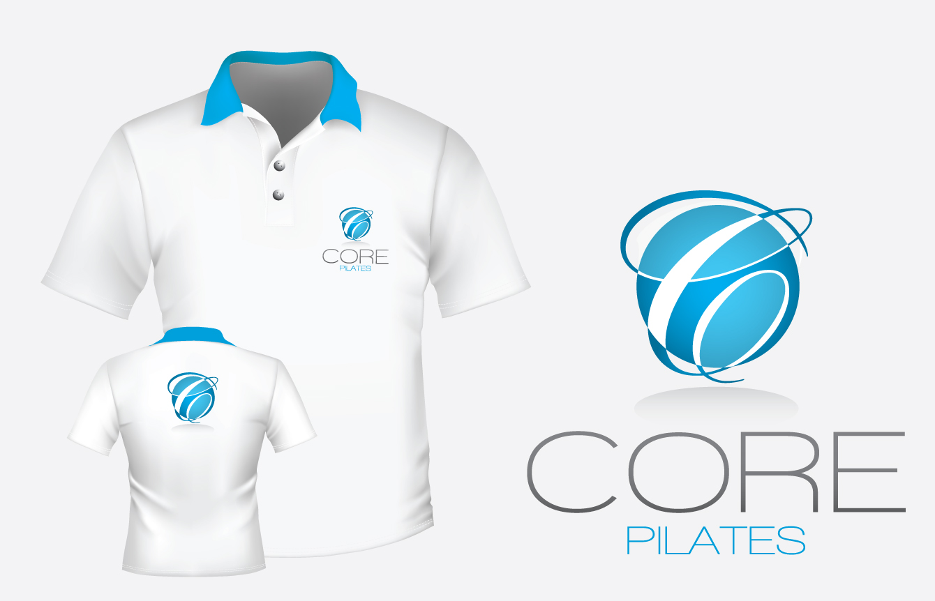Logo Design by nausigeo - Entry No. 58 in the Logo Design Contest Core Pilates Logo Design.