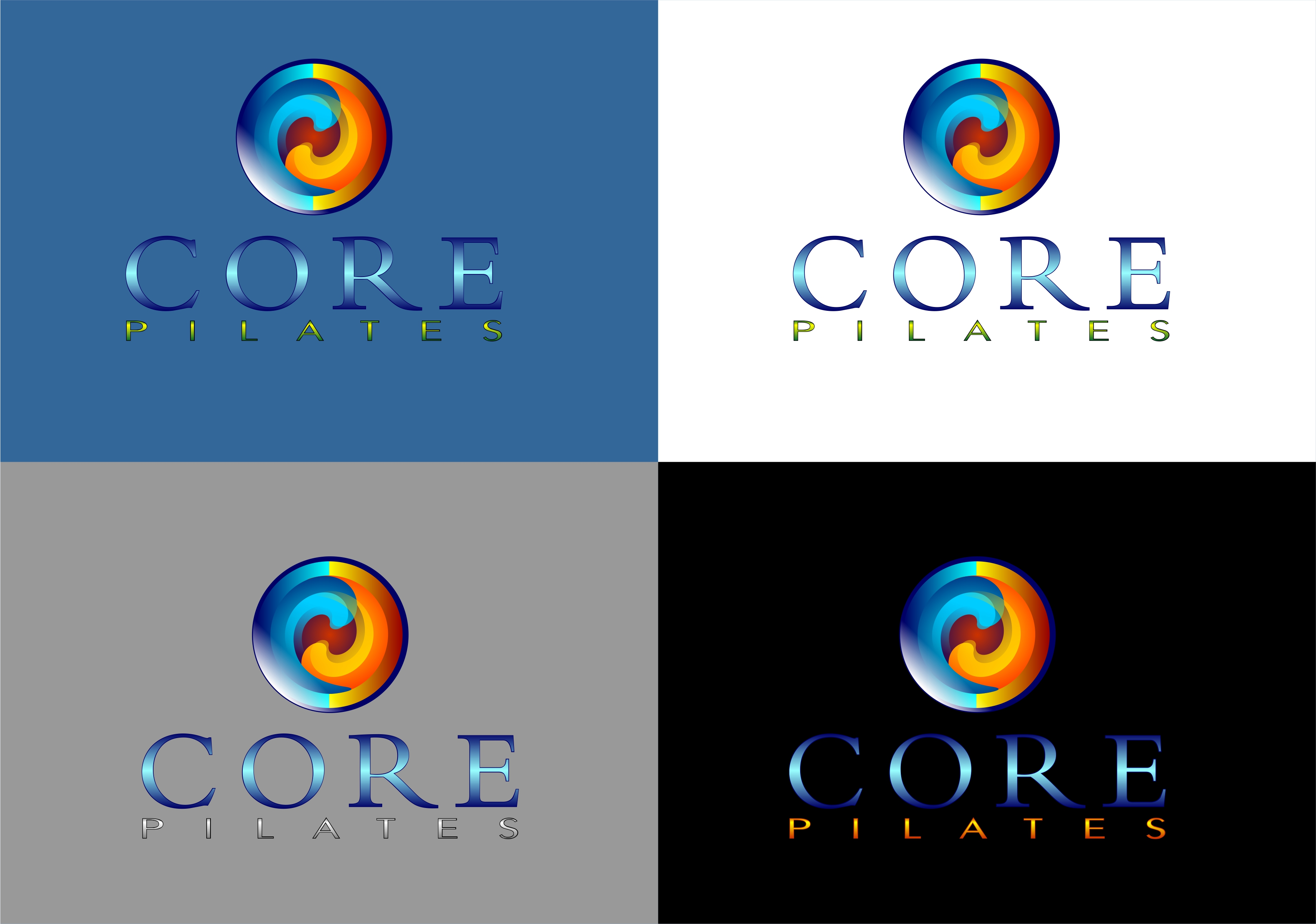 Logo Design by Fatih Ercan - Entry No. 59 in the Logo Design Contest Core Pilates Logo Design.