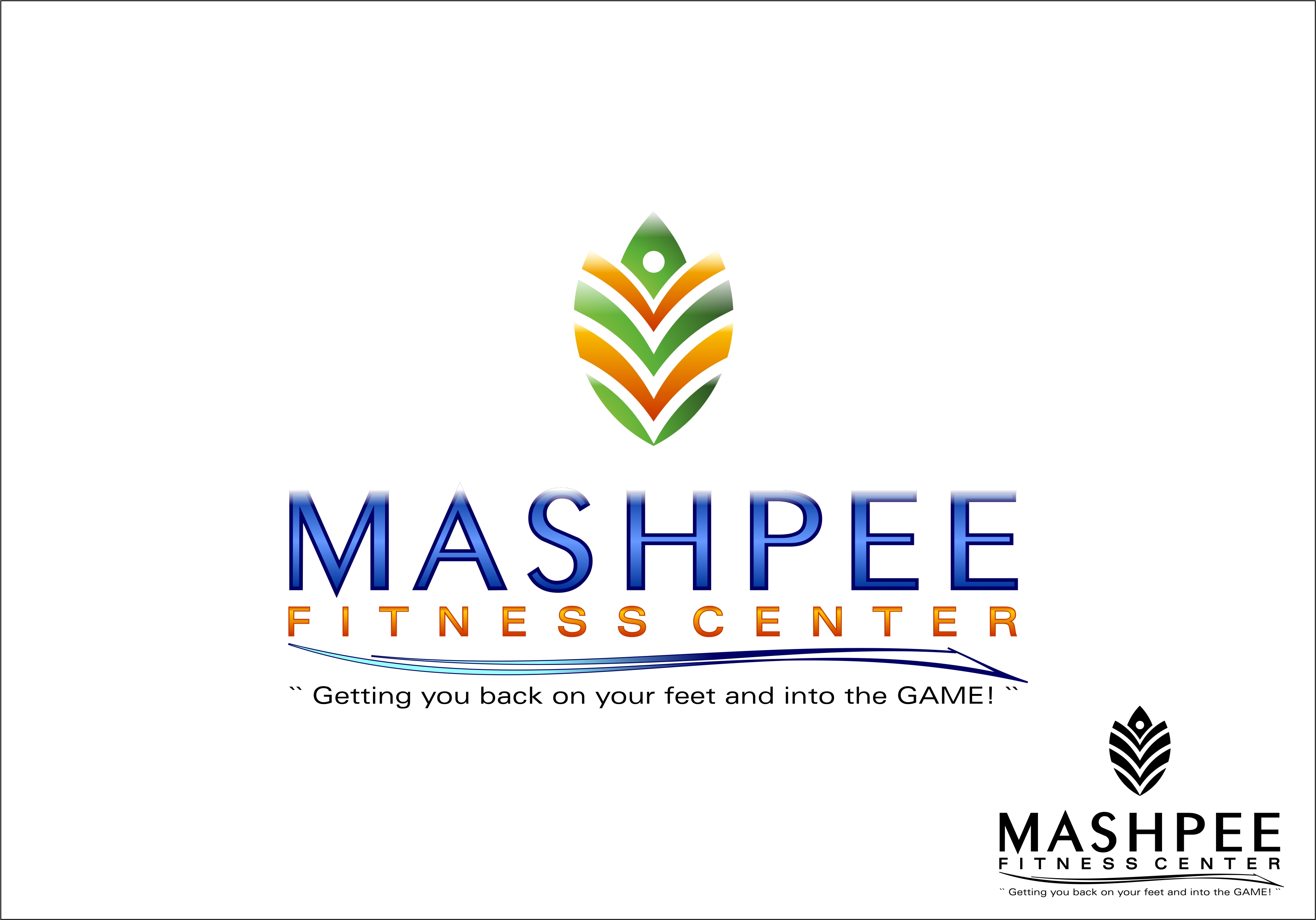 Logo Design by Fatih Ercan - Entry No. 97 in the Logo Design Contest New Logo Design for Mashpee Fitness Center.