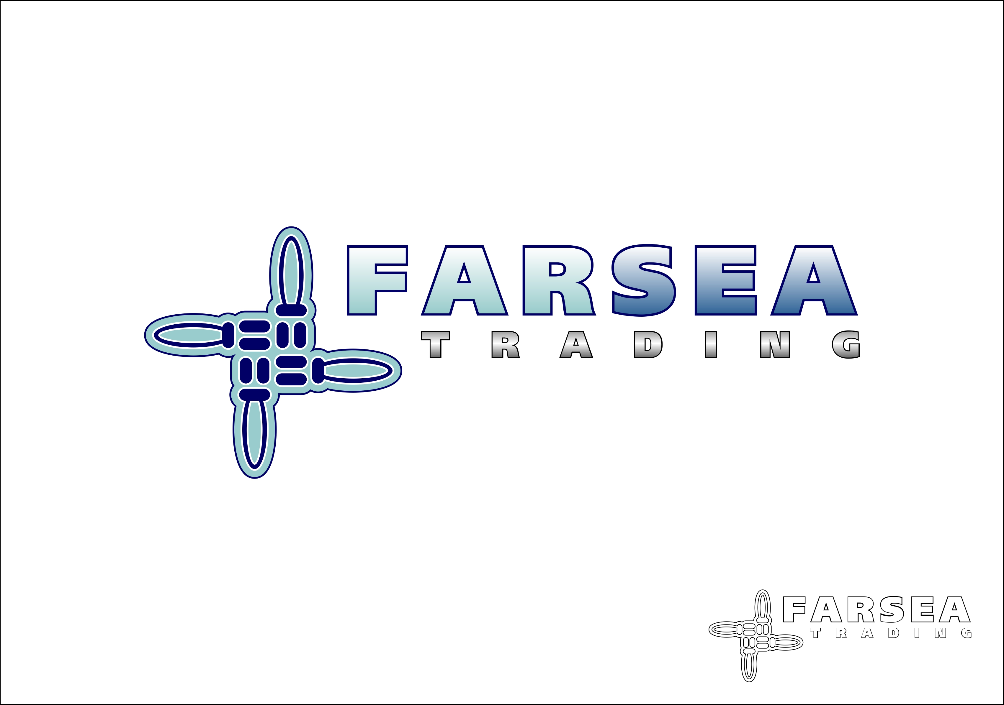 Logo Design by Fatih Ercan - Entry No. 76 in the Logo Design Contest Unique Logo Design Wanted for Farsea Trading.