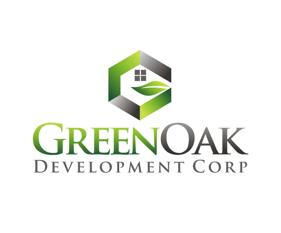 Logo Design by Reivan Ferdinan - Entry No. 51 in the Logo Design Contest Unique Logo Design Wanted for Green Oak Development Corp..