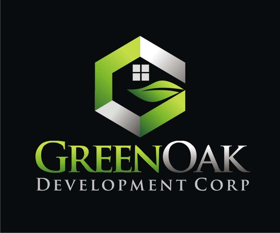 Logo Design by Reivan Ferdinan - Entry No. 52 in the Logo Design Contest Unique Logo Design Wanted for Green Oak Development Corp..