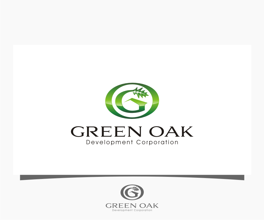 Logo Design by Muhammad Nasrul chasib - Entry No. 53 in the Logo Design Contest Unique Logo Design Wanted for Green Oak Development Corp..