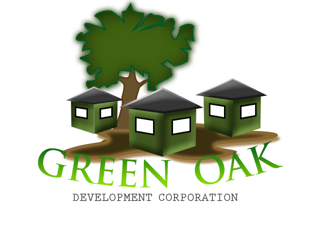 Logo Design by drunkman - Entry No. 57 in the Logo Design Contest Unique Logo Design Wanted for Green Oak Development Corp..