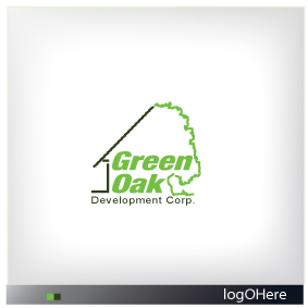 Logo Design by Marinescu Lucian - Entry No. 58 in the Logo Design Contest Unique Logo Design Wanted for Green Oak Development Corp..