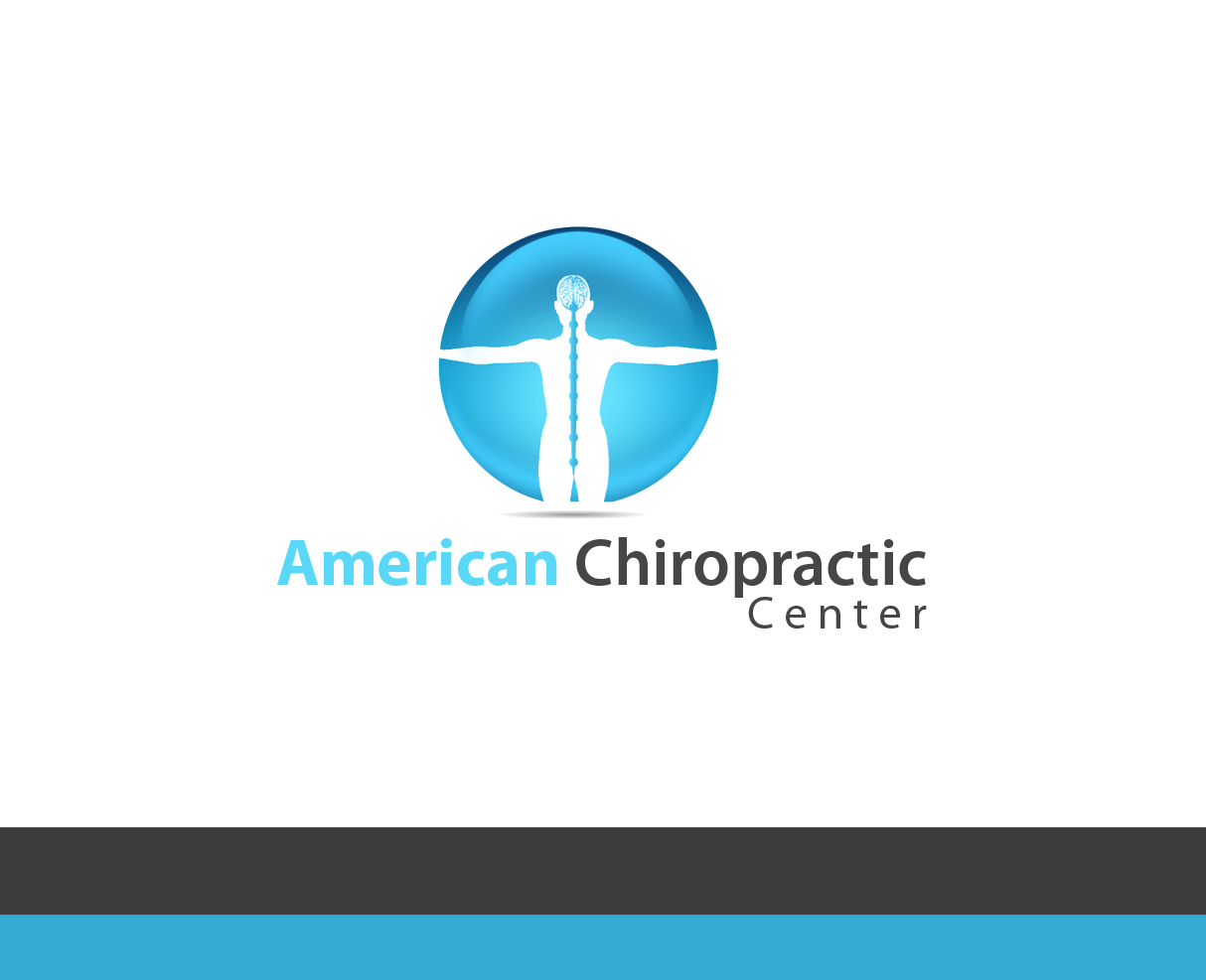 Logo Design by Kot Design - Entry No. 155 in the Logo Design Contest Logo Design for American Chiropractic Center.