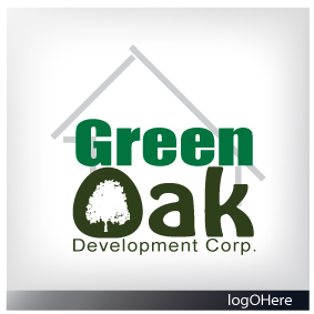 Logo Design by Marinescu Lucian - Entry No. 61 in the Logo Design Contest Unique Logo Design Wanted for Green Oak Development Corp..