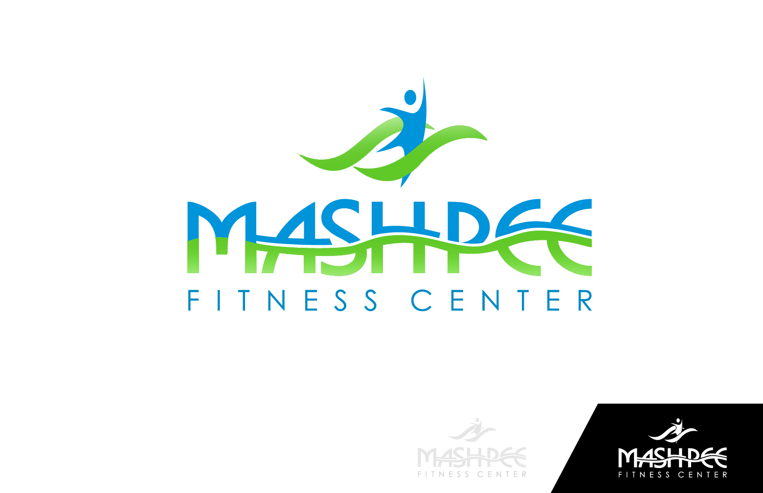 Logo Design by Private User - Entry No. 104 in the Logo Design Contest New Logo Design for Mashpee Fitness Center.