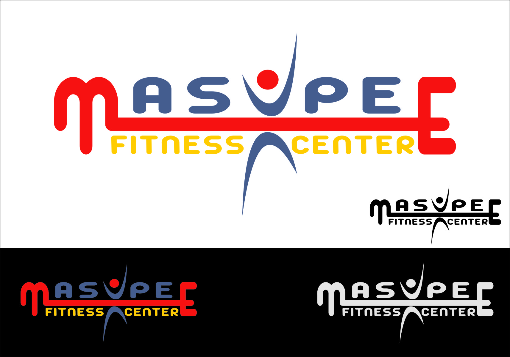Logo Design by RasYa Muhammad Athaya - Entry No. 105 in the Logo Design Contest New Logo Design for Mashpee Fitness Center.