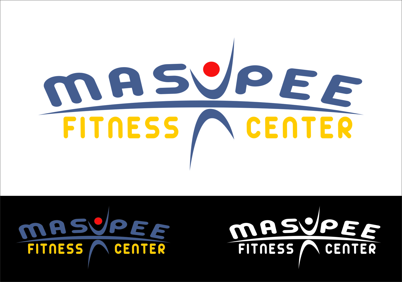 Logo Design by RasYa Muhammad Athaya - Entry No. 106 in the Logo Design Contest New Logo Design for Mashpee Fitness Center.
