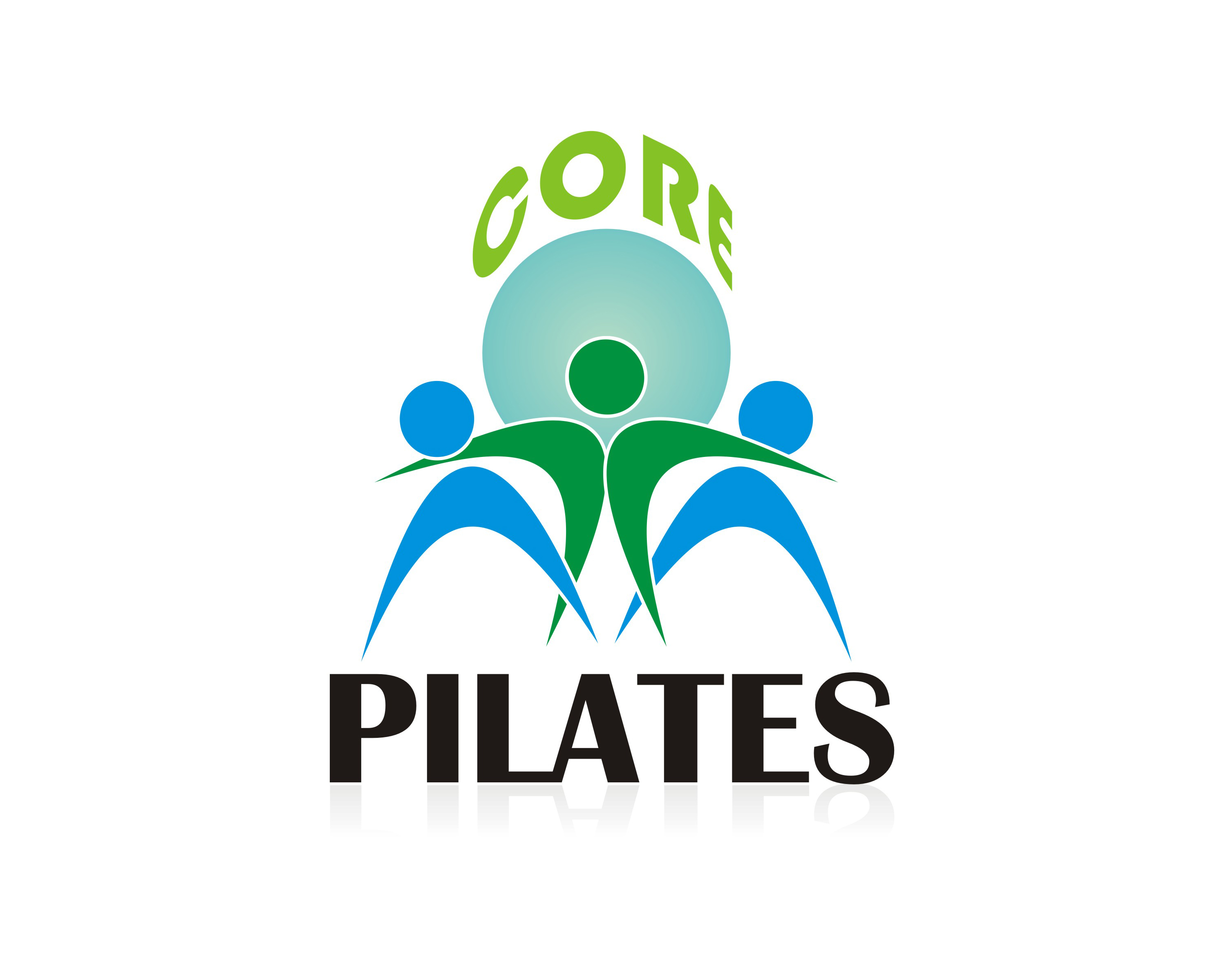 Logo Design by Robby Nourita - Entry No. 66 in the Logo Design Contest Core Pilates Logo Design.