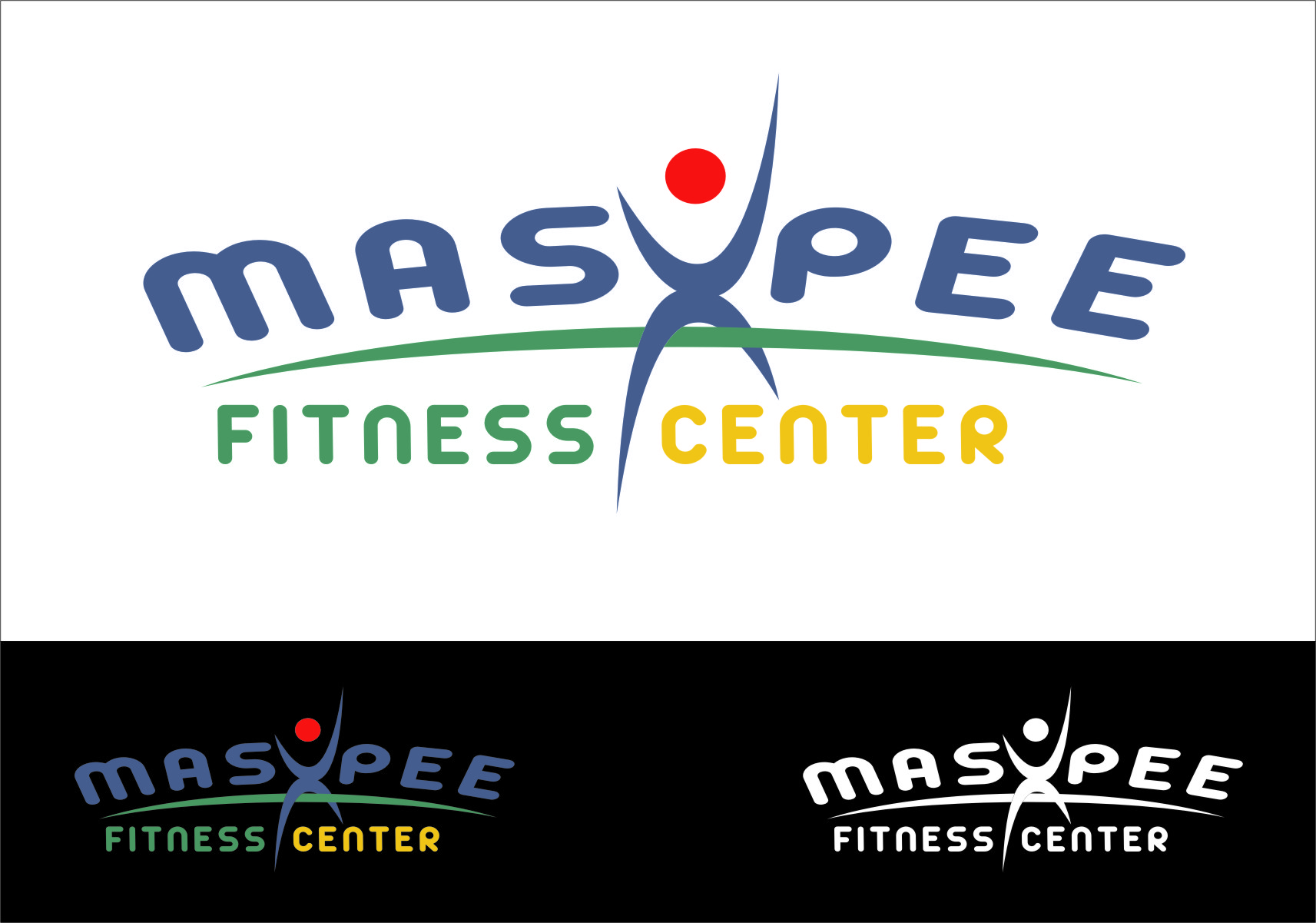 Logo Design by RasYa Muhammad Athaya - Entry No. 108 in the Logo Design Contest New Logo Design for Mashpee Fitness Center.