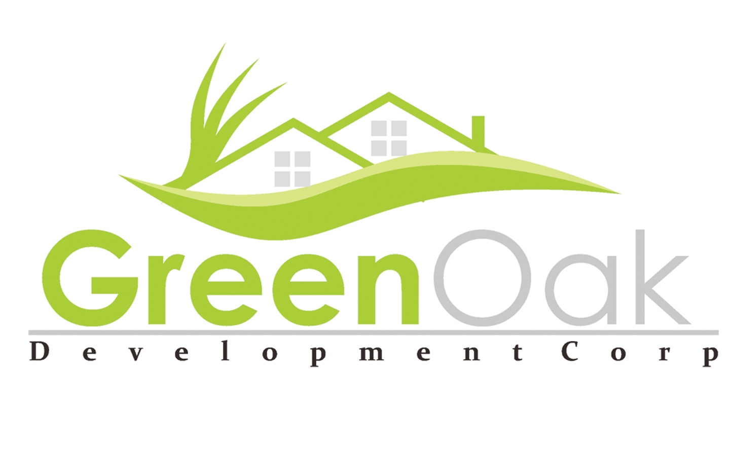 Logo Design by Danar Prasetya - Entry No. 65 in the Logo Design Contest Unique Logo Design Wanted for Green Oak Development Corp..