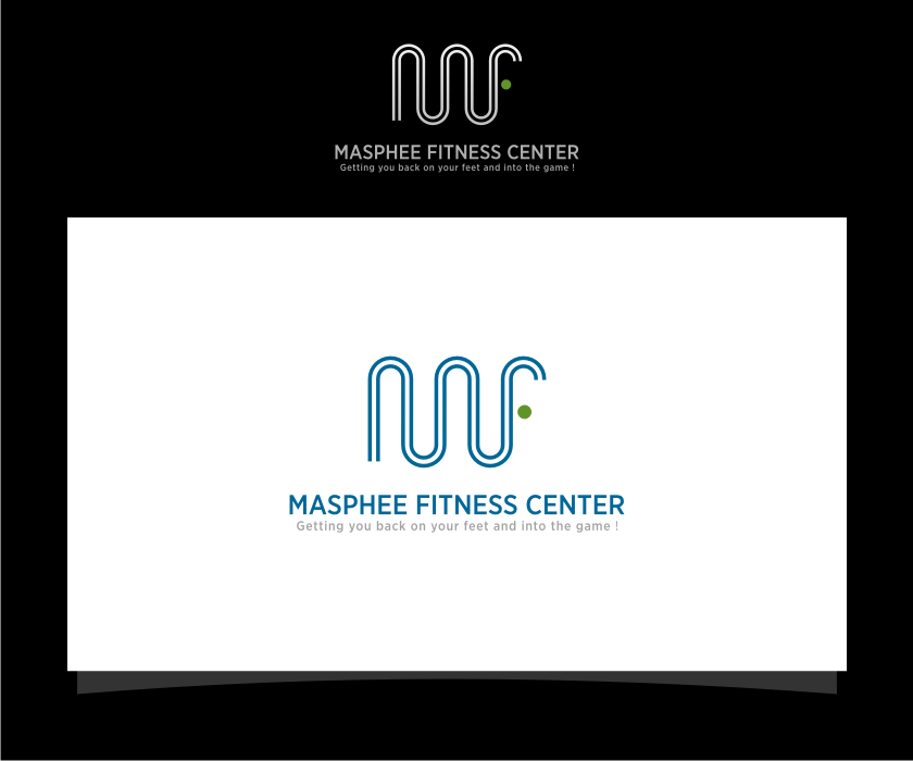 Logo Design by graphicleaf - Entry No. 109 in the Logo Design Contest New Logo Design for Mashpee Fitness Center.