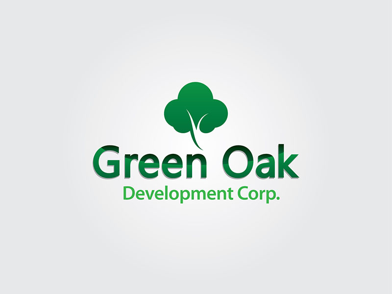 Logo Design by scorpy - Entry No. 70 in the Logo Design Contest Unique Logo Design Wanted for Green Oak Development Corp..