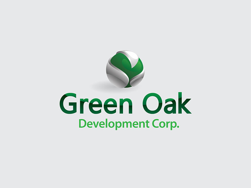 Logo Design by scorpy - Entry No. 71 in the Logo Design Contest Unique Logo Design Wanted for Green Oak Development Corp..