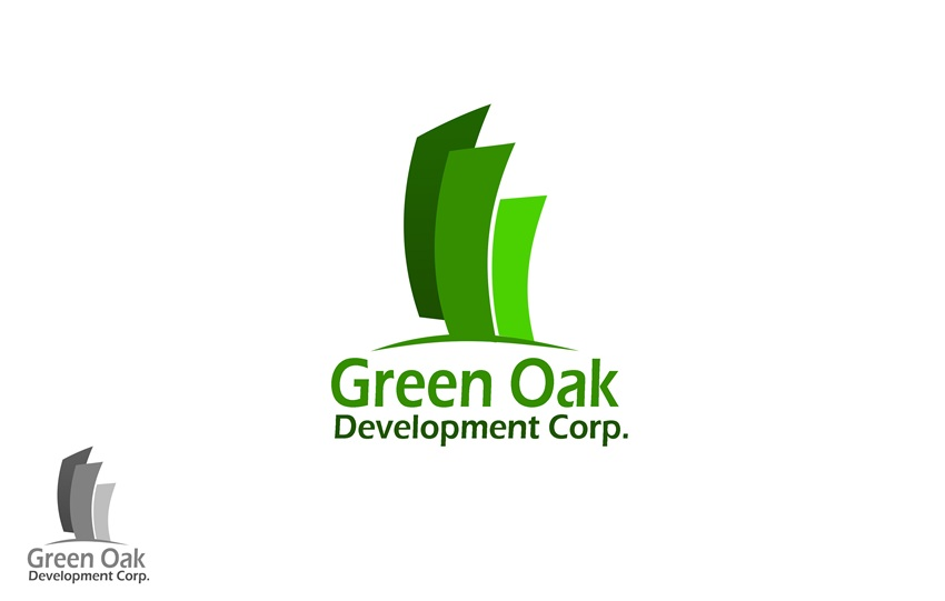 Logo Design by Respati Himawan - Entry No. 76 in the Logo Design Contest Unique Logo Design Wanted for Green Oak Development Corp..