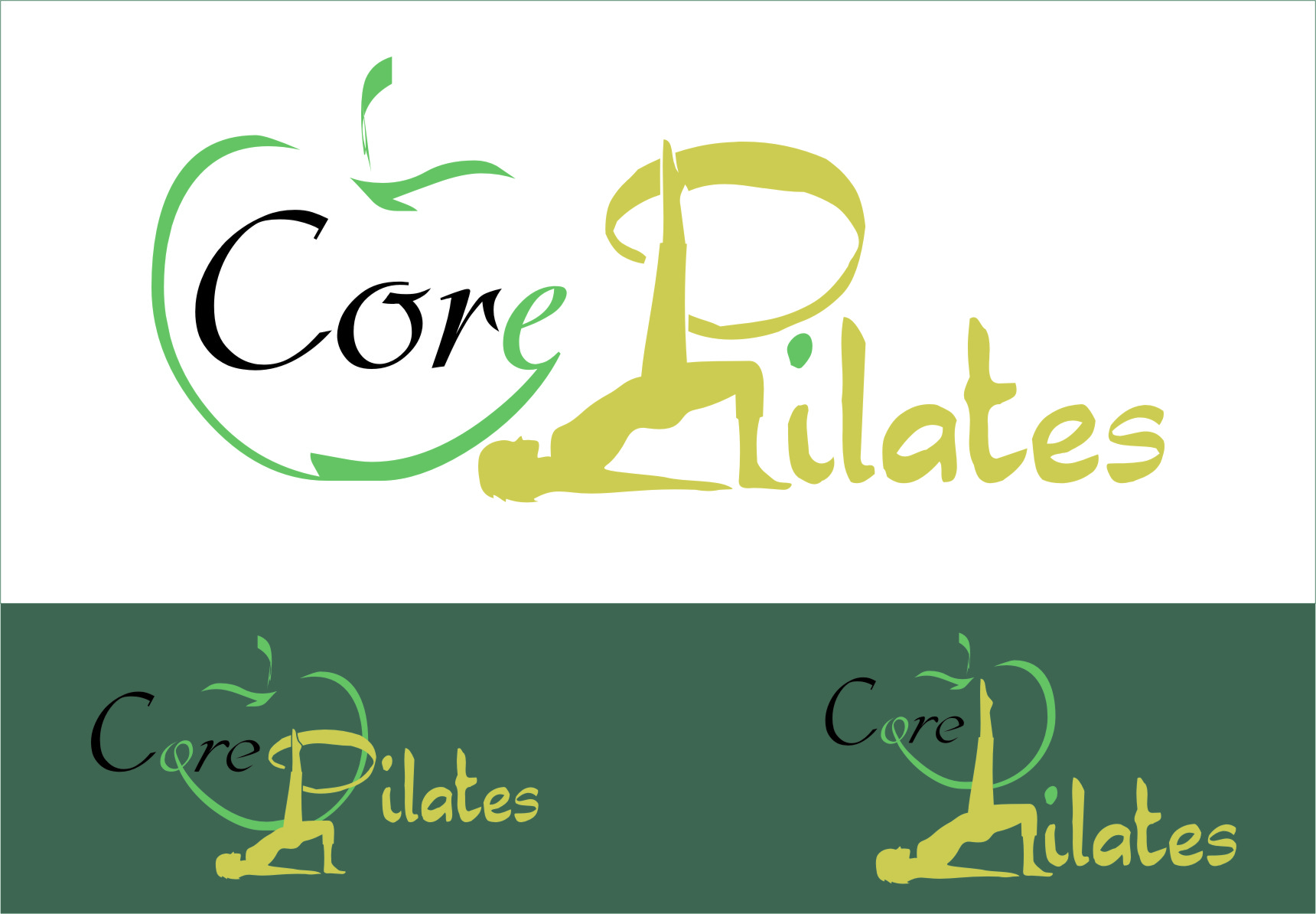 Logo Design by Ngepet_art - Entry No. 89 in the Logo Design Contest Core Pilates Logo Design.