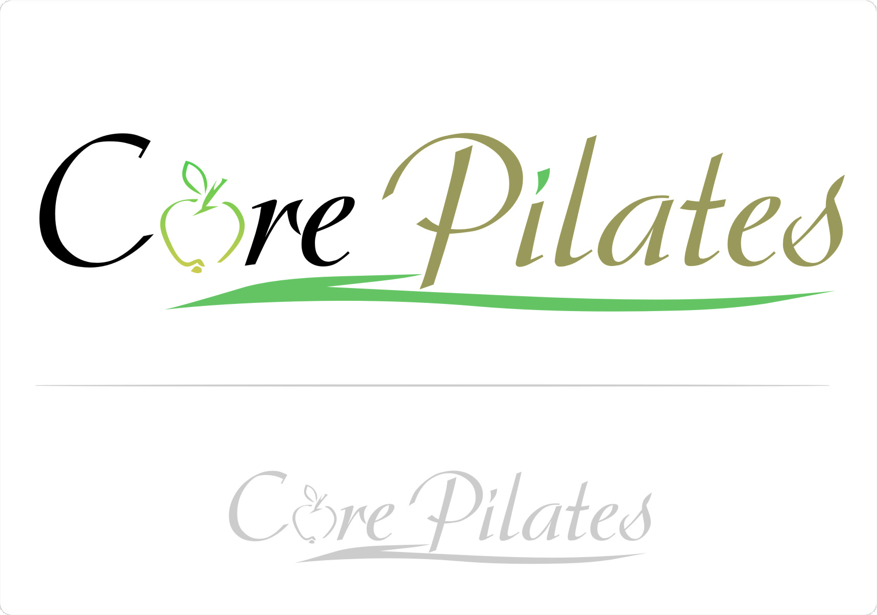 Logo Design by Ngepet_art - Entry No. 91 in the Logo Design Contest Core Pilates Logo Design.