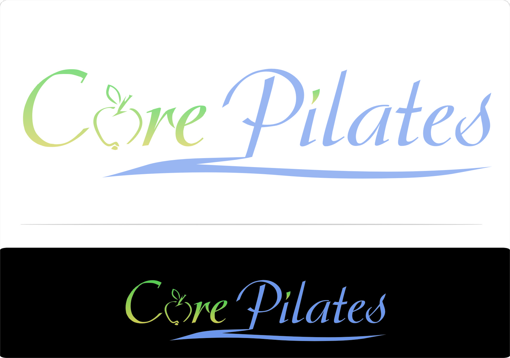 Logo Design by RasYa Muhammad Athaya - Entry No. 92 in the Logo Design Contest Core Pilates Logo Design.