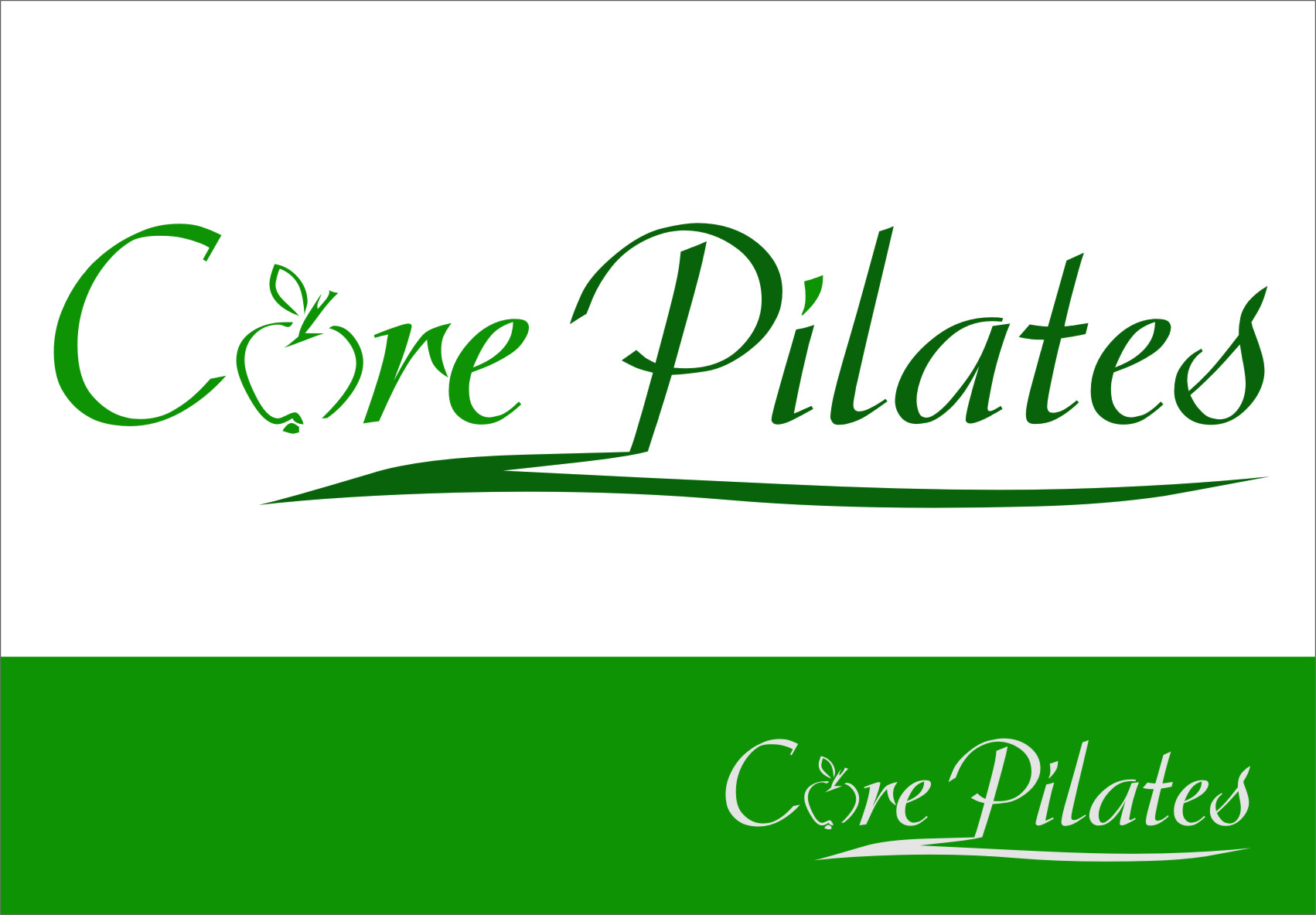 Logo Design by RasYa Muhammad Athaya - Entry No. 93 in the Logo Design Contest Core Pilates Logo Design.