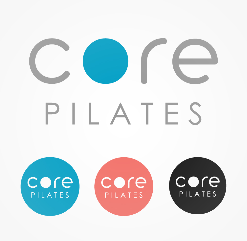 Logo Design by Mathias Frisa - Entry No. 97 in the Logo Design Contest Core Pilates Logo Design.