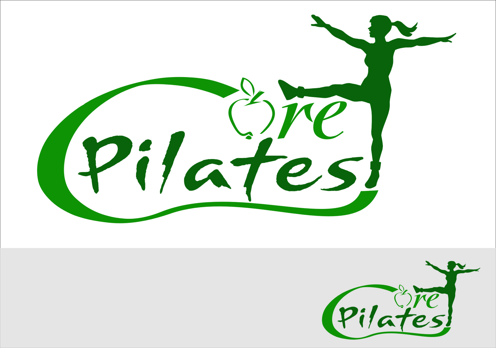 Logo Design by Ngepet_art - Entry No. 98 in the Logo Design Contest Core Pilates Logo Design.