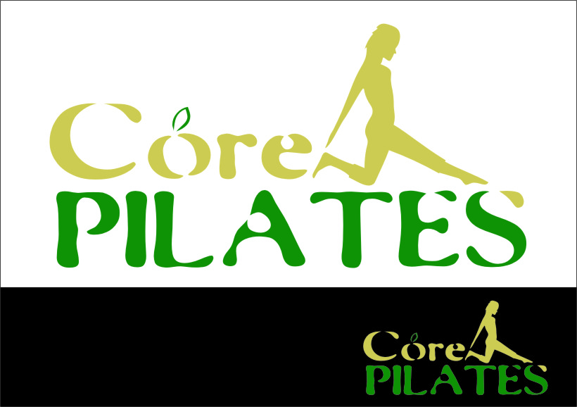 Logo Design by Ngepet_art - Entry No. 100 in the Logo Design Contest Core Pilates Logo Design.