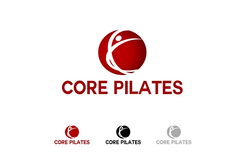 Logo Design by Respati Himawan - Entry No. 104 in the Logo Design Contest Core Pilates Logo Design.