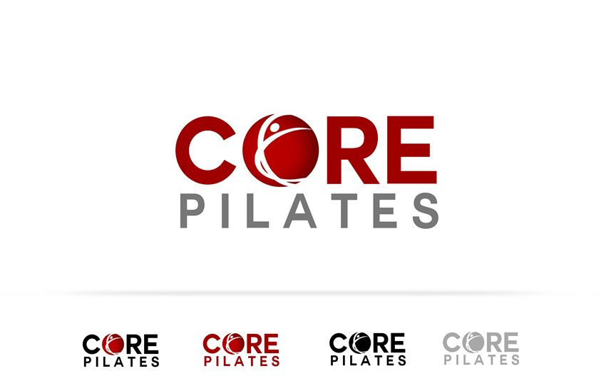Logo Design by Respati Himawan - Entry No. 105 in the Logo Design Contest Core Pilates Logo Design.