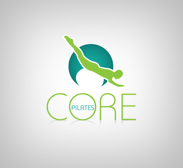 Logo Design by nausigeo - Entry No. 106 in the Logo Design Contest Core Pilates Logo Design.