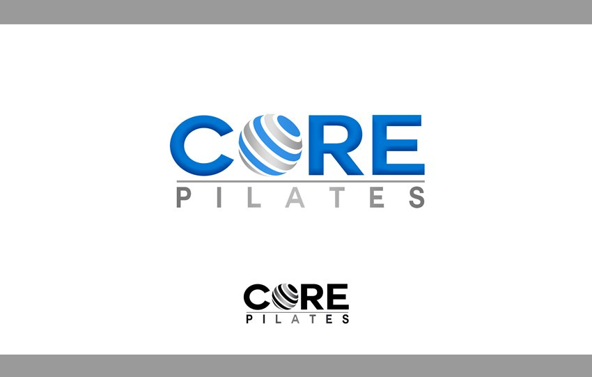 Logo Design by Respati Himawan - Entry No. 123 in the Logo Design Contest Core Pilates Logo Design.
