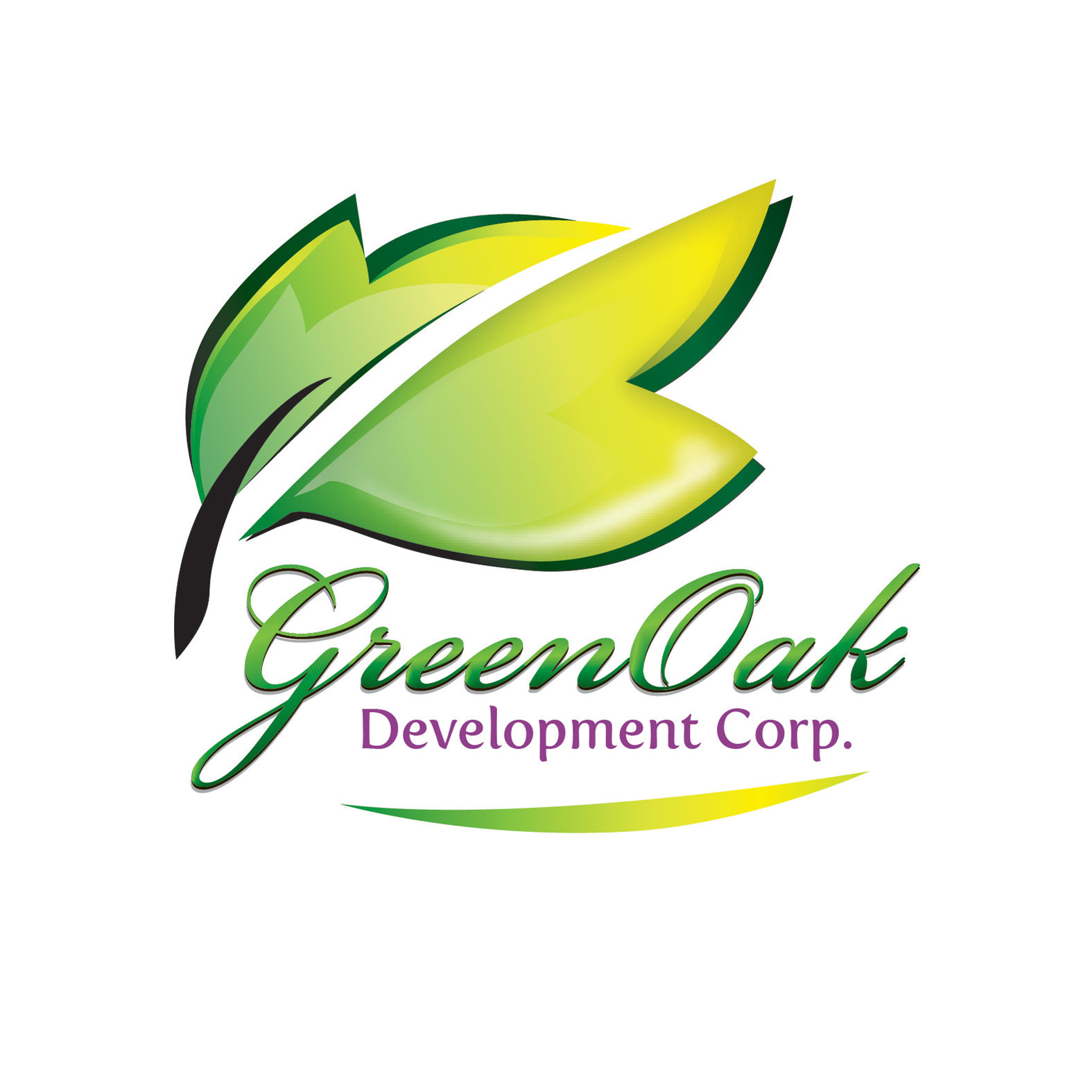 Logo Design by Private User - Entry No. 89 in the Logo Design Contest Unique Logo Design Wanted for Green Oak Development Corp..