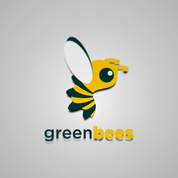 Logo Design by Private User - Entry No. 2 in the Logo Design Contest Greenbees Logo Design.