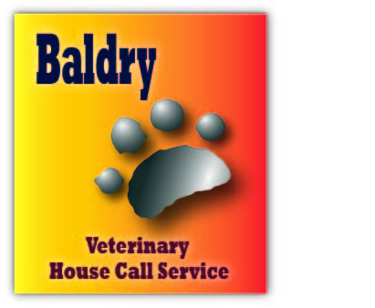 Logo Design by Jenice Tobias - Entry No. 14 in the Logo Design Contest Captivating Logo Design for Baldry Veterinary House Call Service.