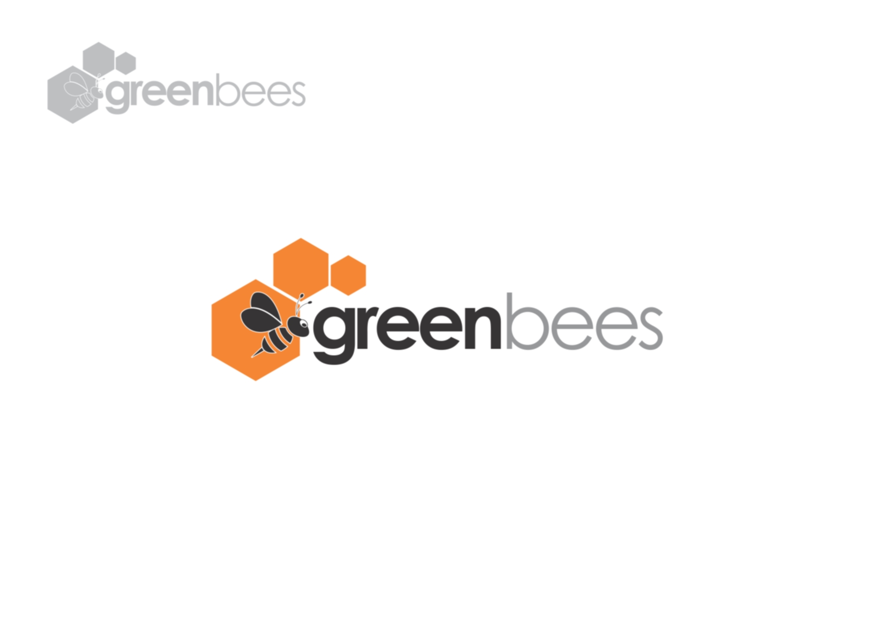 Logo Design by Private User - Entry No. 4 in the Logo Design Contest Greenbees Logo Design.