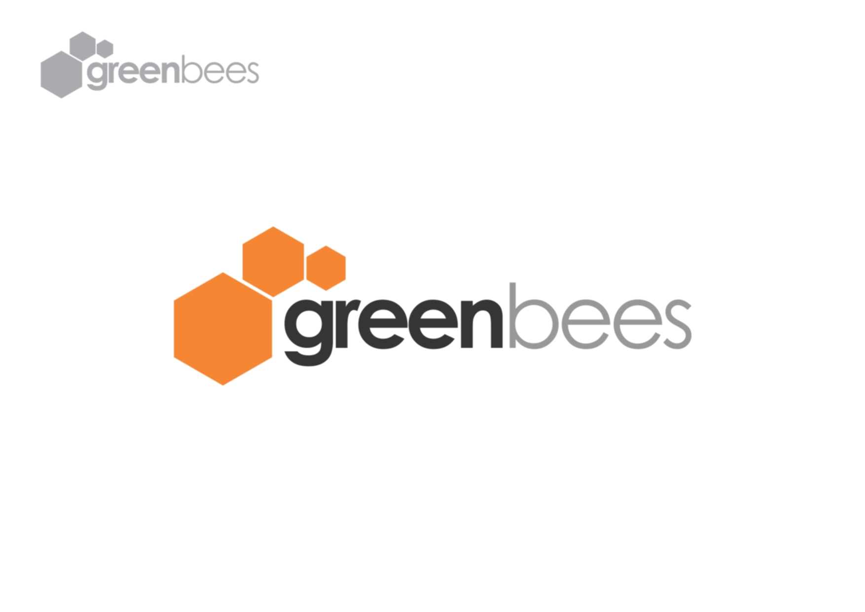 Logo Design by Private User - Entry No. 5 in the Logo Design Contest Greenbees Logo Design.