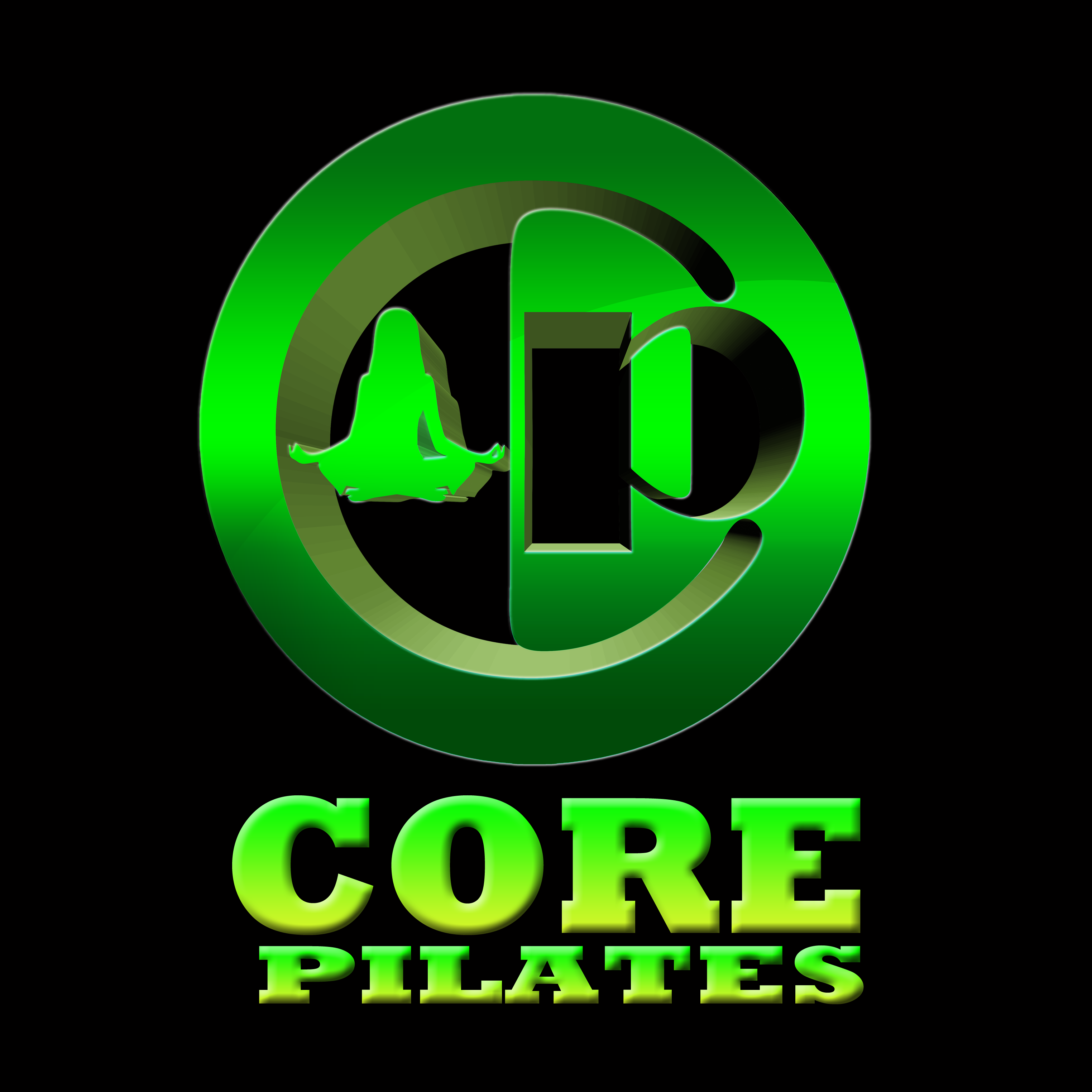 Logo Design by Crispin Vasquez - Entry No. 138 in the Logo Design Contest Core Pilates Logo Design.