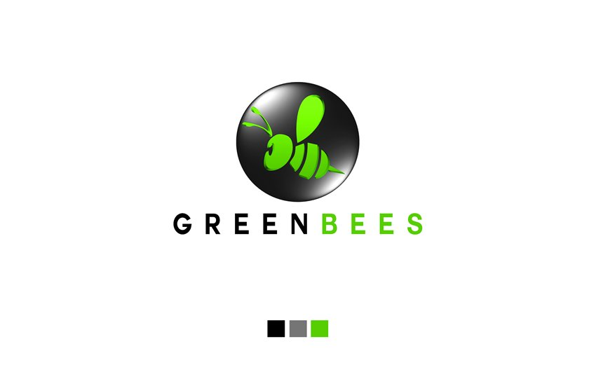Logo Design by Respati Himawan - Entry No. 6 in the Logo Design Contest Greenbees Logo Design.
