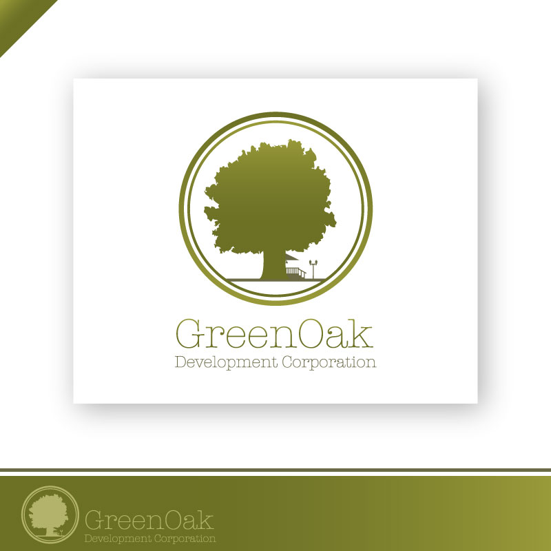 Logo Design by trav - Entry No. 106 in the Logo Design Contest Unique Logo Design Wanted for Green Oak Development Corp..