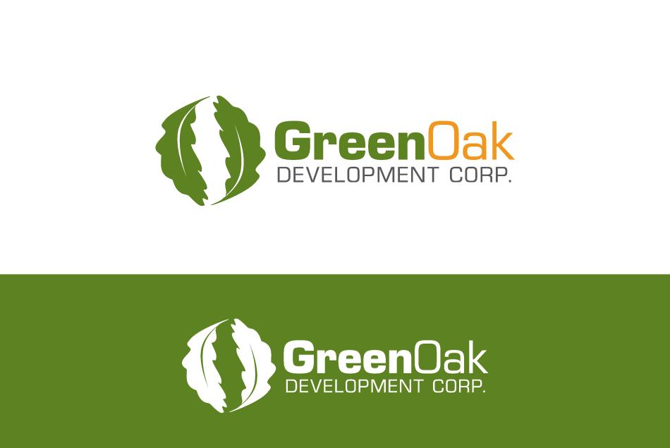 Logo Design by Dipin Bishwakarma - Entry No. 108 in the Logo Design Contest Unique Logo Design Wanted for Green Oak Development Corp..